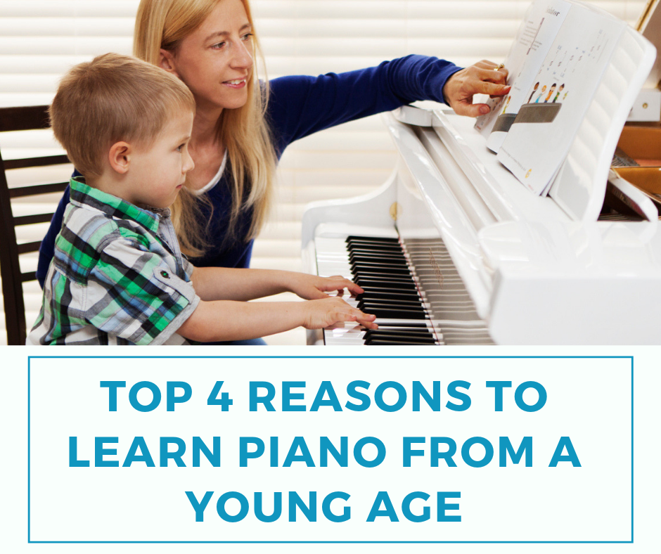 Top 4 Reasons To Learn Piano From A Young Age 1