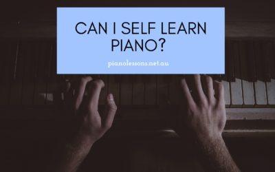 Can I self learn piano?